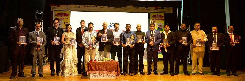 "Indian Frontliners Part 20 book on "" Achievers"" Release Function"